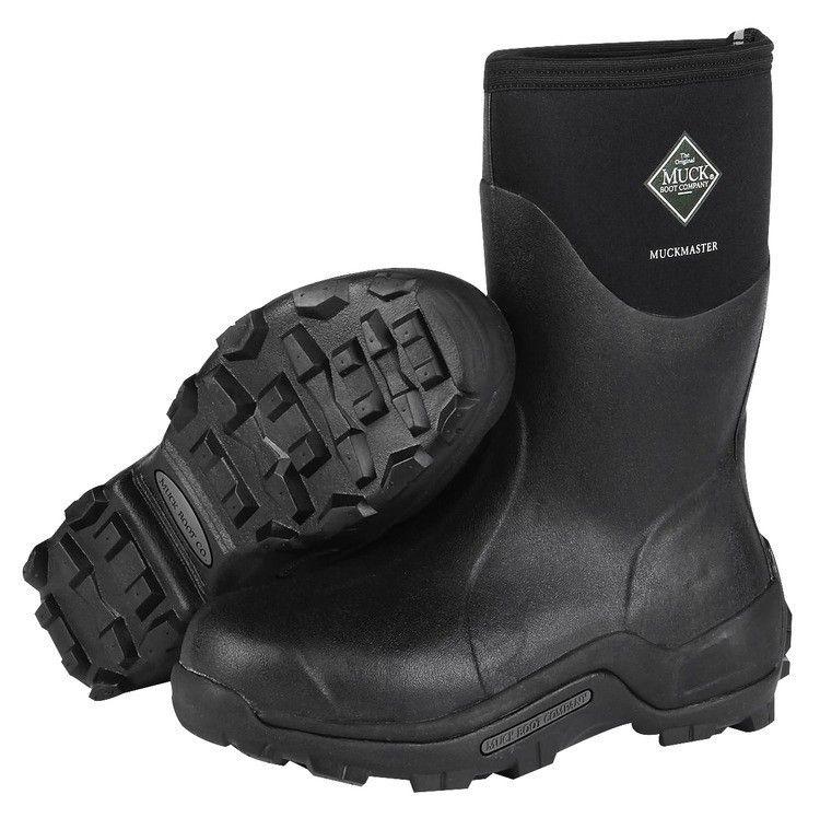 Muck Muckmaster Commercial Grade Boot MidBlack
