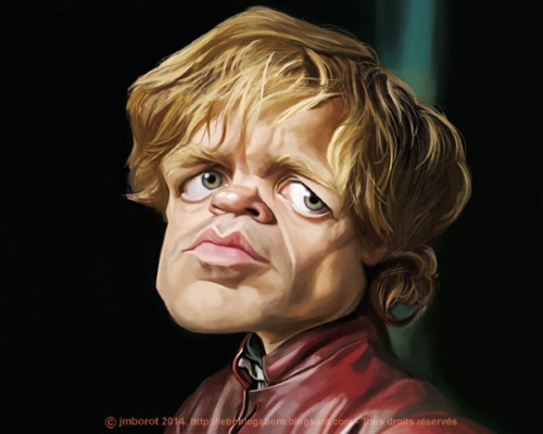 [ Peter Dinklage ] - artist: Jean-Marc Borot - website…