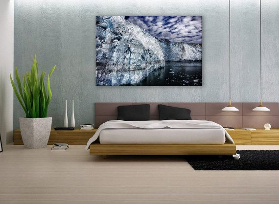 alaska wall art, 	iceberg wall art,	winter wall art,	canvas art,	3 panel print,	multi panel wall art,	winter canvas art,	3 panel wall decor,	mountain wall art,	mountain canvas art,	triptych canvas art,	split canvas,	office wall decor