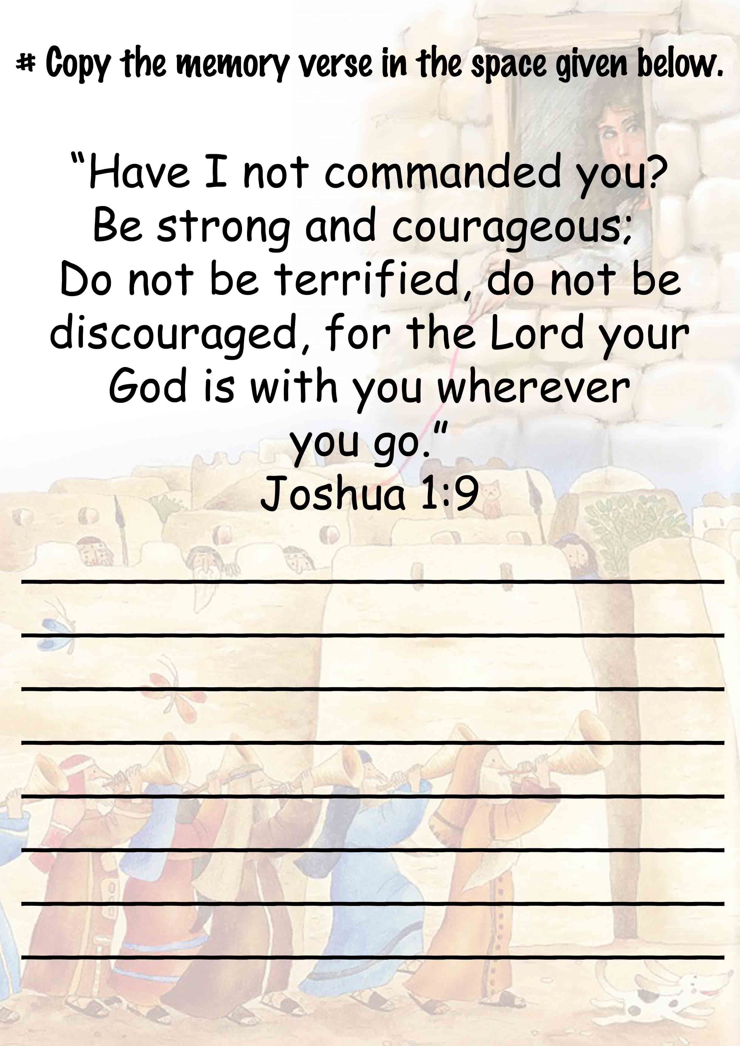 Memory Verse For Kids
