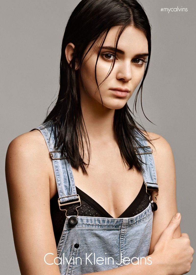 Kendall Jenner lands a Calvin Klein Jeans advertising campaign for the brand's #mycalvins line