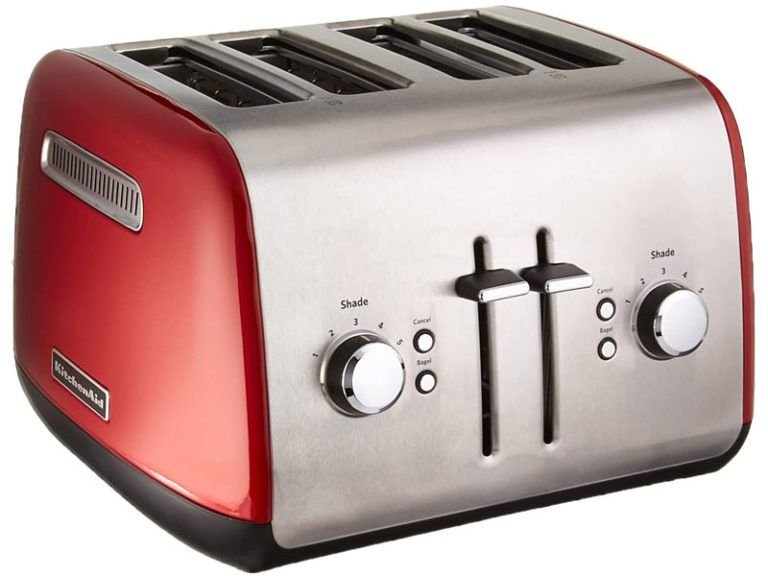 Top 10 Best 4 Slice Toasters In 2020 Reviews Toaster Kitchenaid Toaster Kitchen Aid