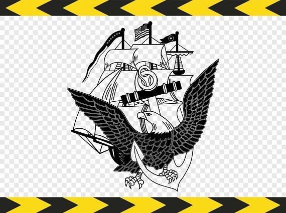 Us Navy Cricut Svg United States Usa Navy Symbol Logo Seal Svg