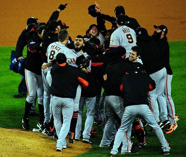 #SFGiants sweep #Tigers in the 2012 World Series