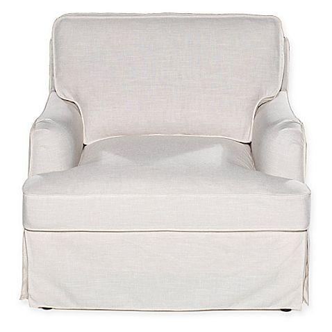 Sofa 2 Go Delaney Chair In Off White