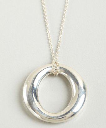 Tiffany co elsa peretti sterling silver sevillana pendant tiffany co elsa peretti sterling silver sevillana pendant necklace aloadofball Gallery