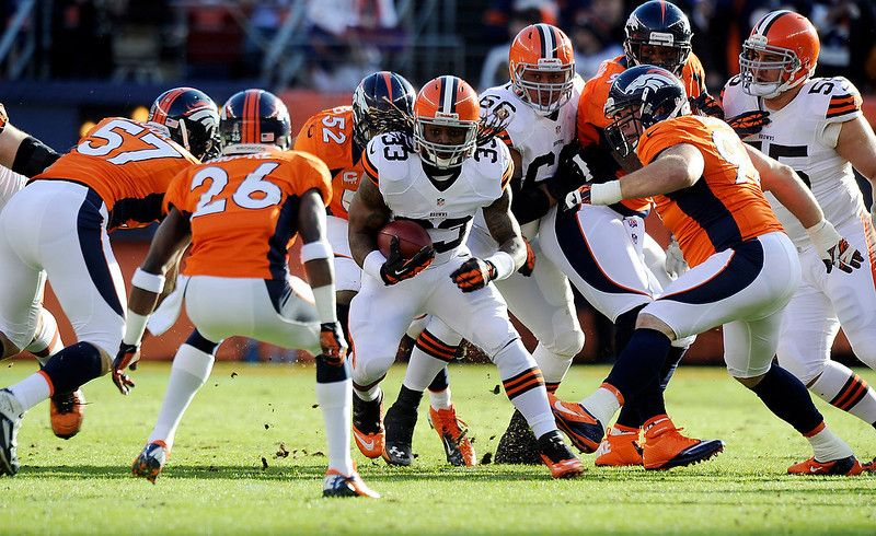 Photos Broncos defeat Browns, 3412 for their 10th