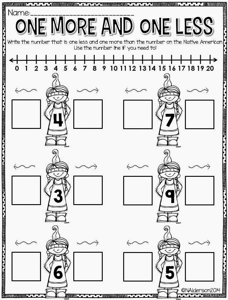 November...already?! Preschool math, Kindergarten math