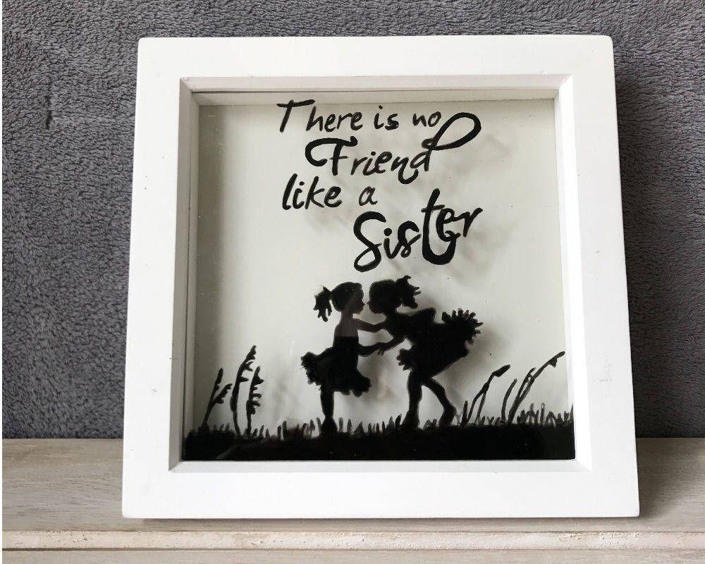There\'s No Friend Like A Sister Memory Frame | Mia Sorella ...