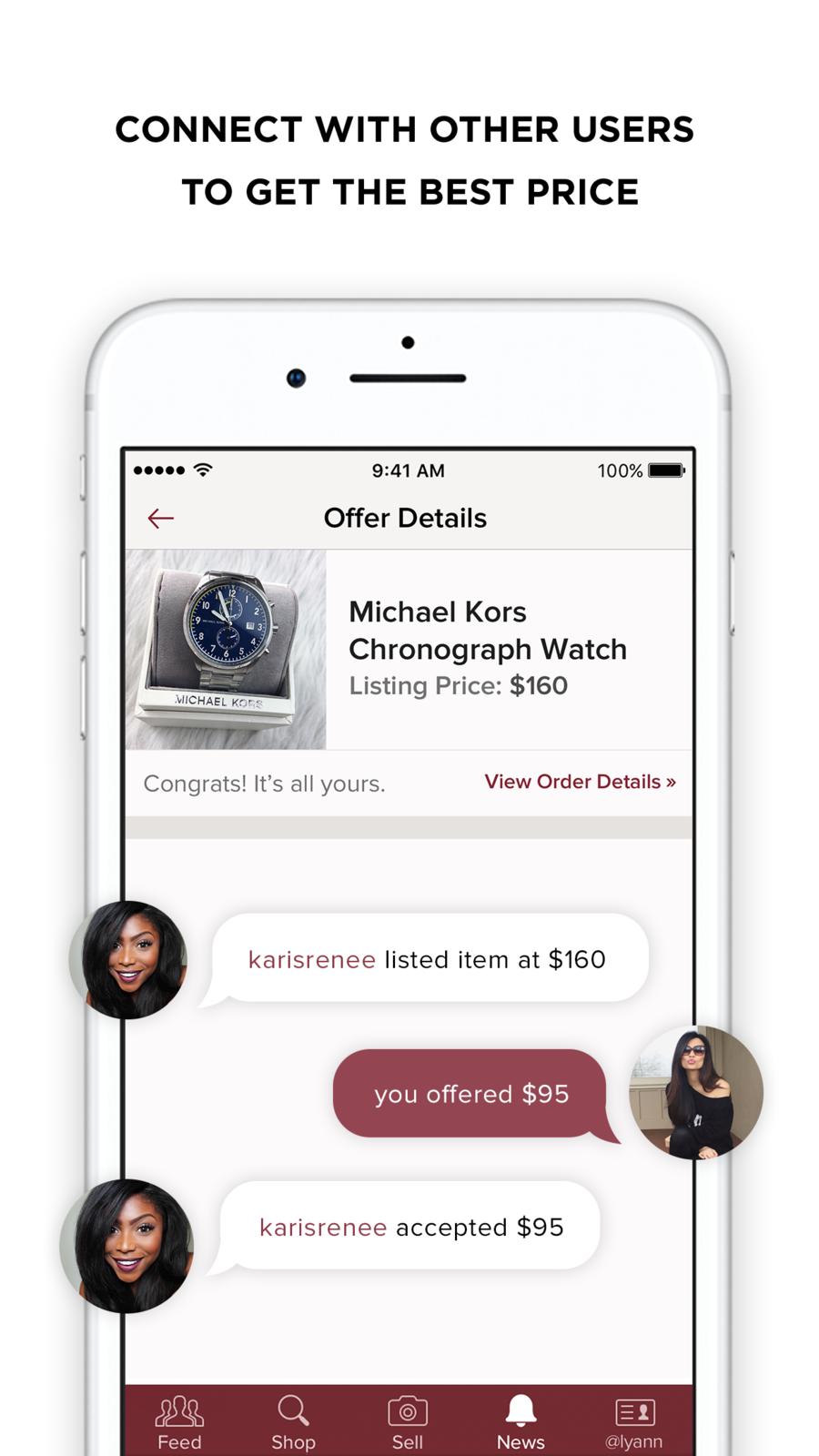 Poshmark on the App Store Taschen