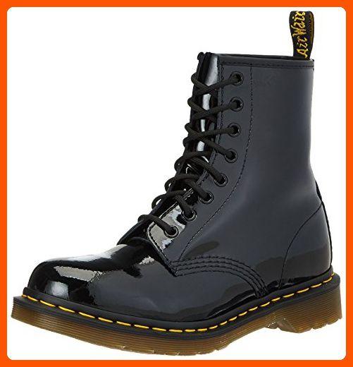 Dr Marten S Women S 1460 8 Eye Patent Leather Boots Black Patent Lamper 3 F M Uk 5 B M Us Women 4 D Boots Patent Leather Boots Combat Boots