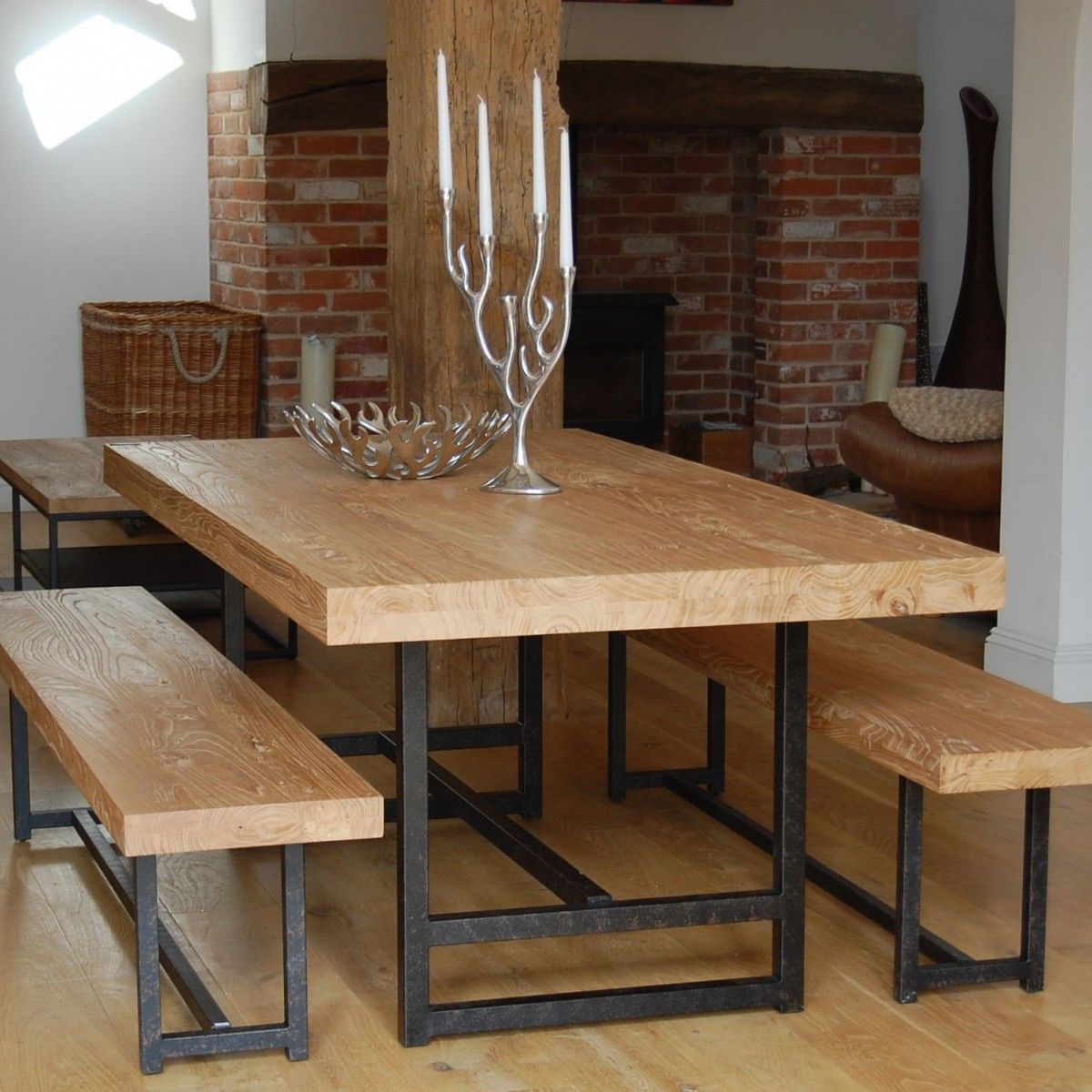 Unique Wood Slab Dining Table  Patio Table  Pinterest  Wood Extraordinary Unique Dining Room Sets Design Inspiration