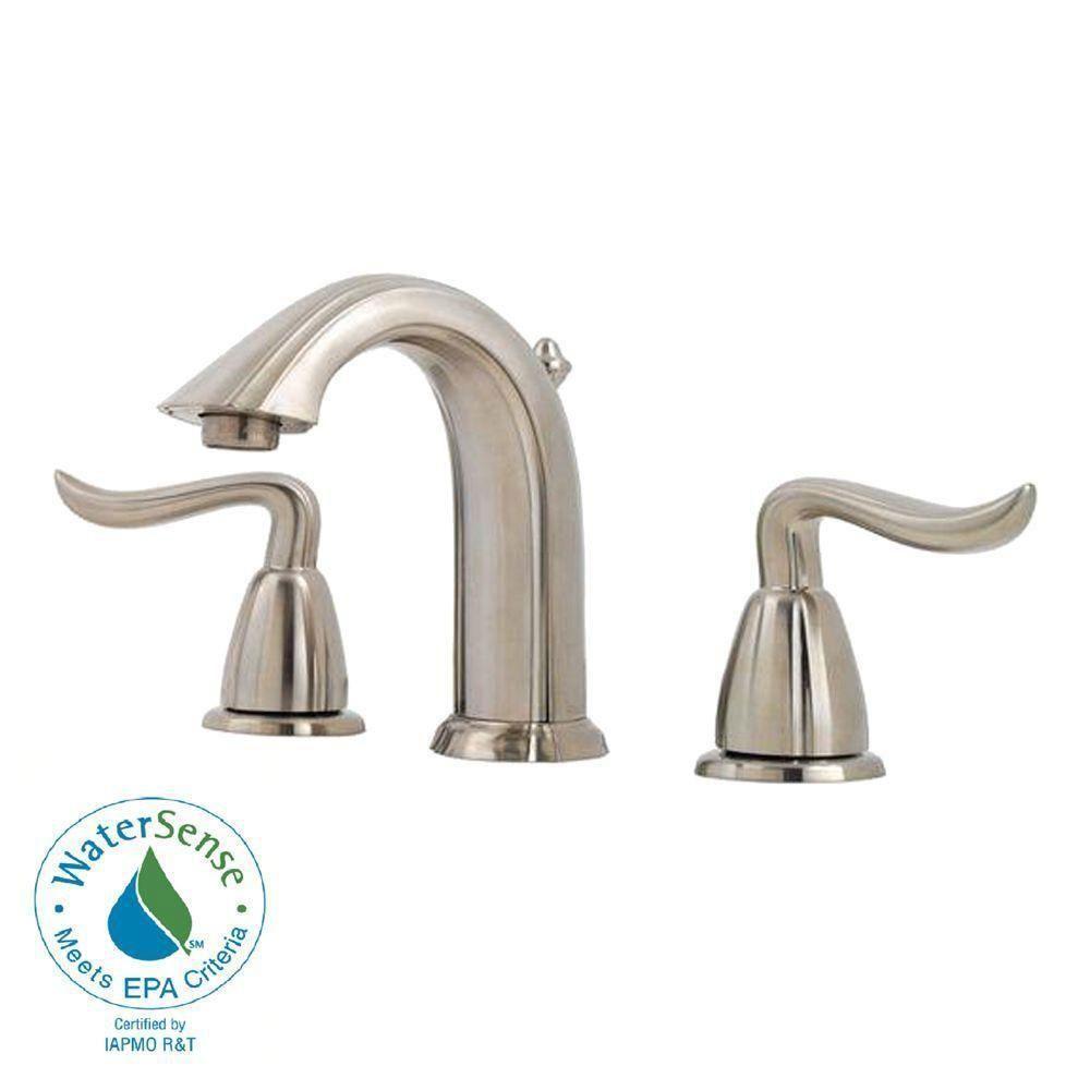Price Pfister Santiago 8 Inch Widespread 2 Handle Bathroom Faucet
