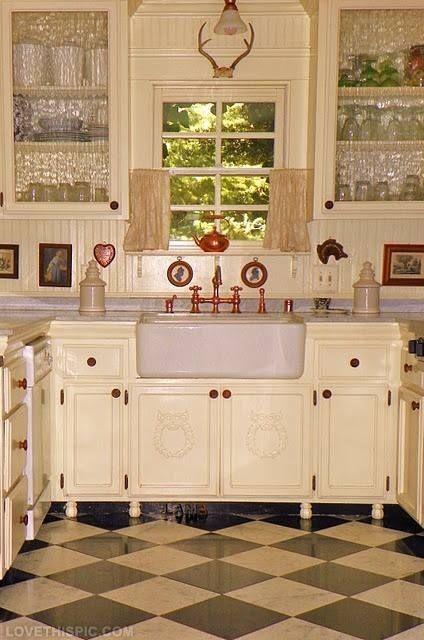 17748 Pretty Antique Kitchen Jpg 424 640 Kitchen Design Decor
