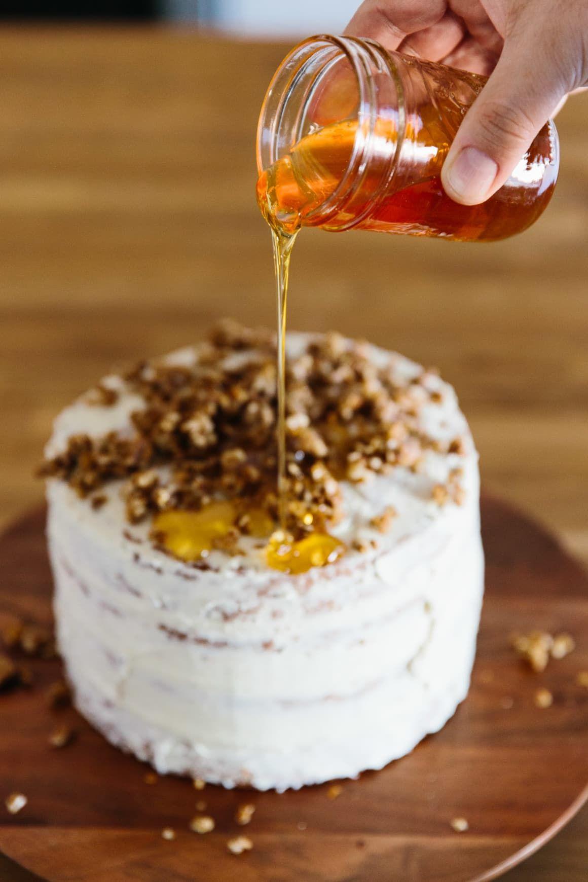 Honey Apple Cake Recipe (With images) Lemon layer