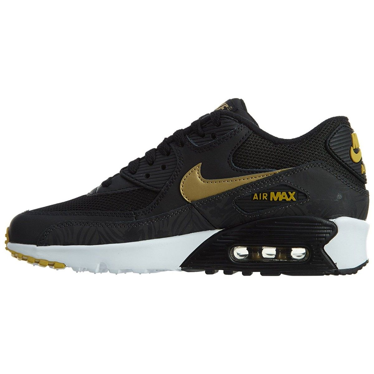 Basket Air Max 90 Print Mesh Junior Taille : 38 12