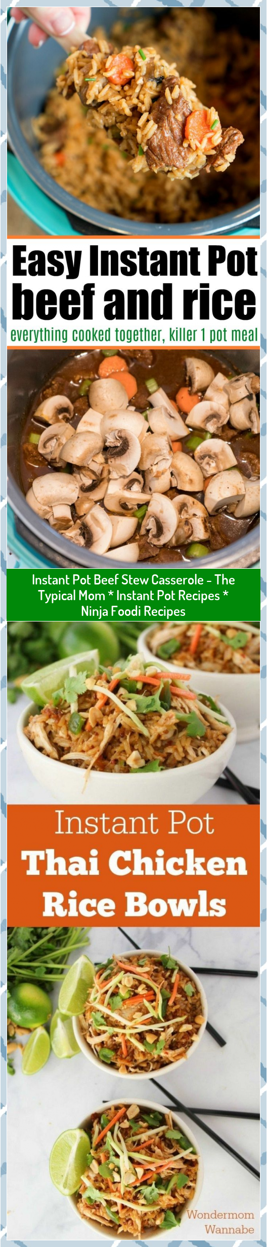 Instant Pot Beef Stew Casserole - The Typical Mom * Instant Pot Recipes * Ninja Foodi Recipes #beef #Casserole #Foodi #Instant #Mom #Ninja #Pot #Recipes #stew #Typical