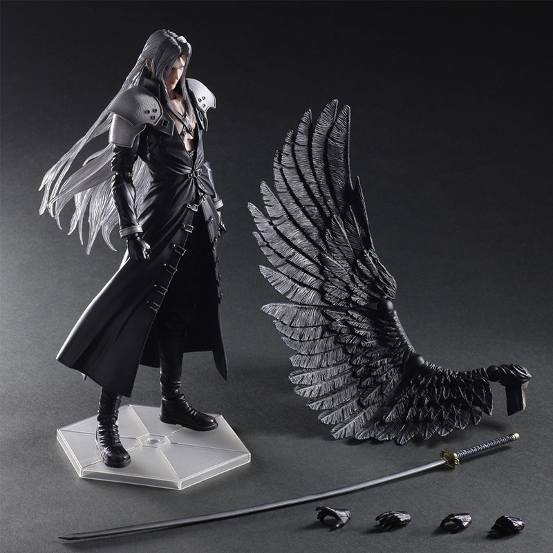46.60$ Buy Now   Paly Play Arts Kai Final Fantasy VII 7 Sephiroth PVC Action