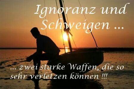 Ignoranz und Schweigen | özlü sözler Sprüche | Quotes, Life