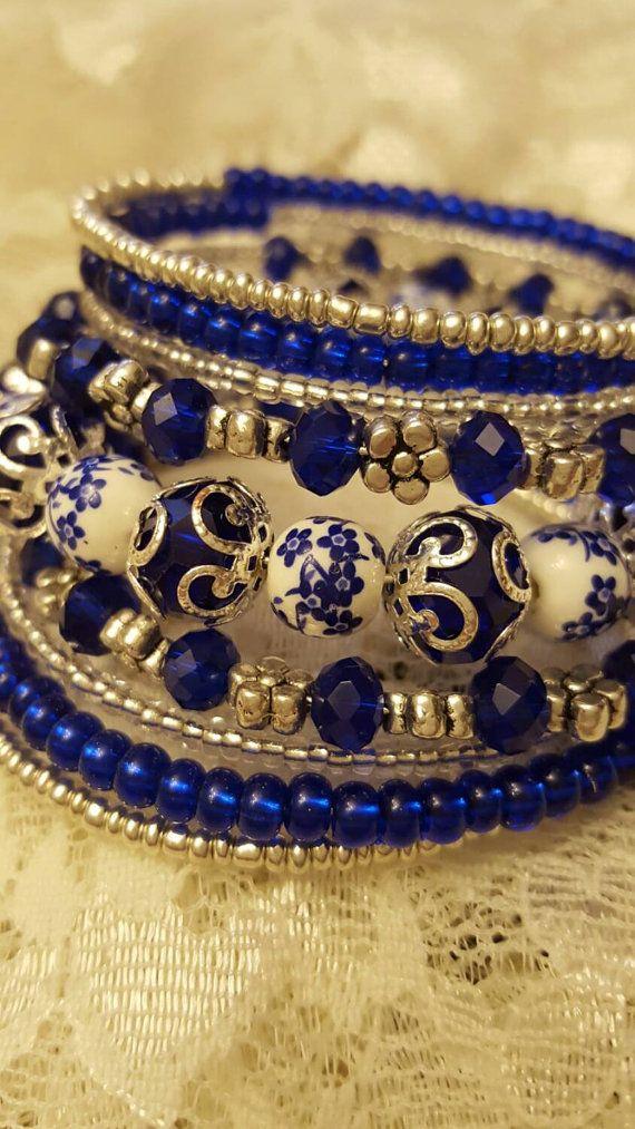 blue moon memory bracelet by marticadesigns on etsy i. Black Bedroom Furniture Sets. Home Design Ideas