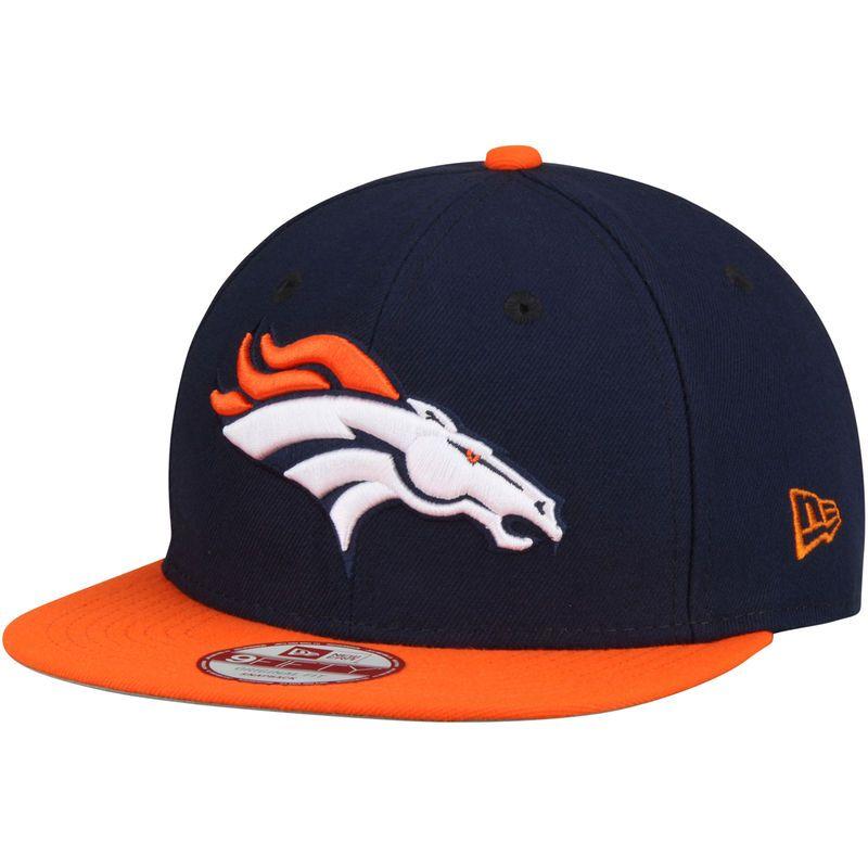 10a124b77d81c1 Denver Broncos New Era Southside Snap Original Fit 9FIFTY Adjustable  Snapback Hat - Navy