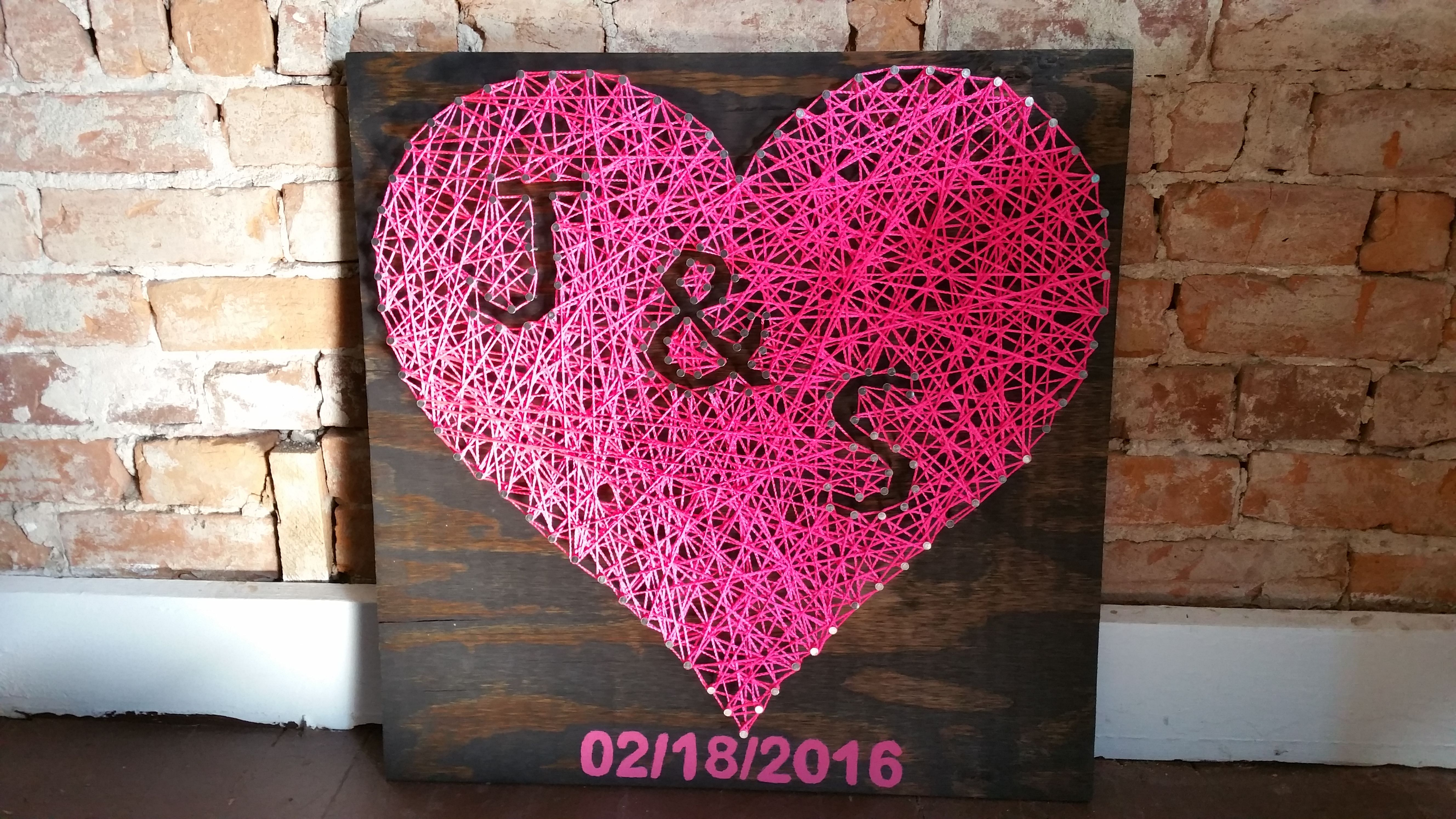 I made an anniversary gift for my girlfriend • /r/DIY
