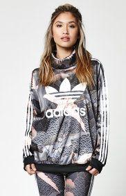X Rita Ora kimono Print Satin jersey adidas Pinterest adidas