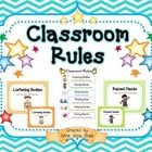 These are my classroom rules that I use in my kindergarten classroom.  My students and I go over the rules every day in the morning.    This produc...