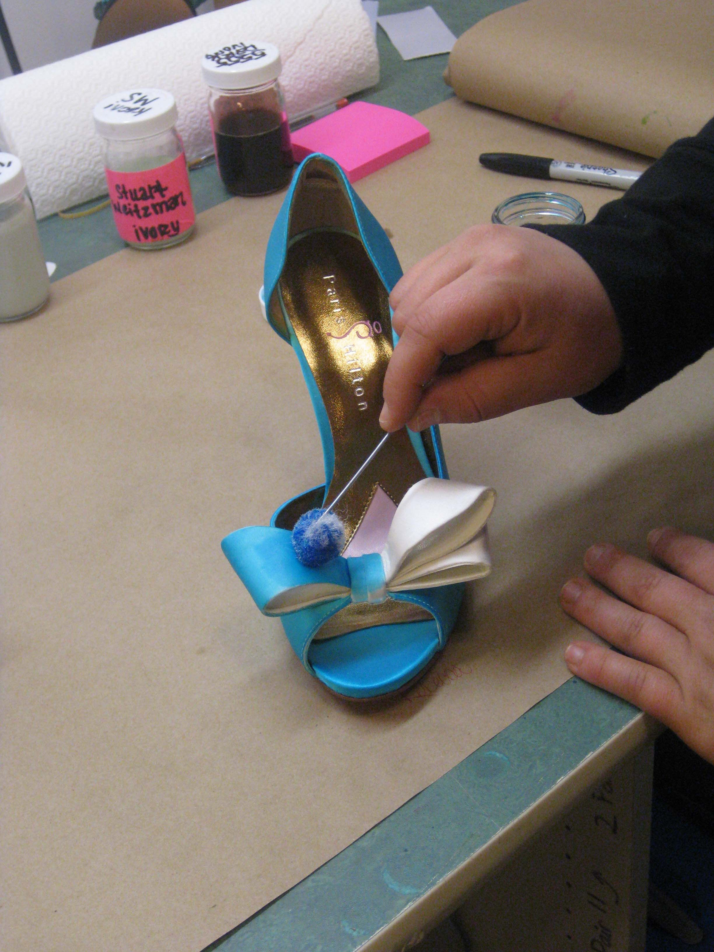 Interested In The Shoe Dying Process Expert Dyers Such As Heather Here Will Take Your And Carefully Dye By Hand