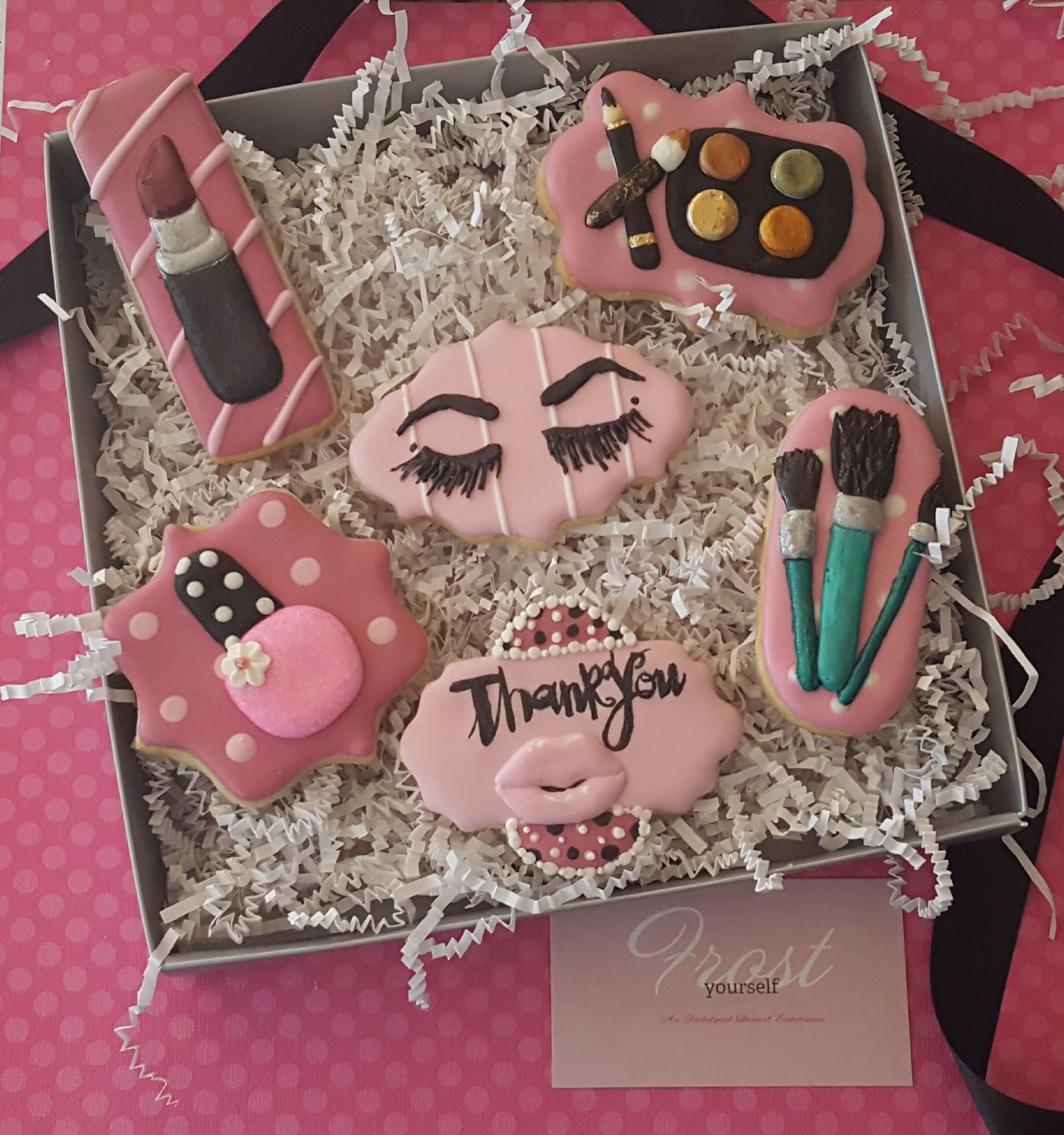 Want to send a unique Thank You gift to a makeup artist
