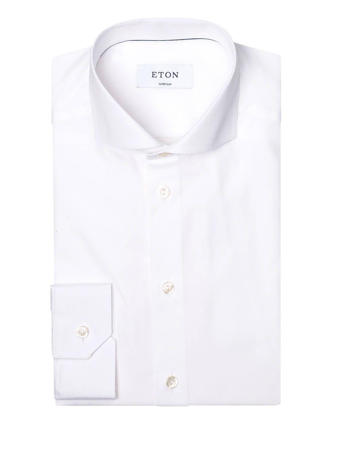 14+ Eton Hemd Super Slim Fit