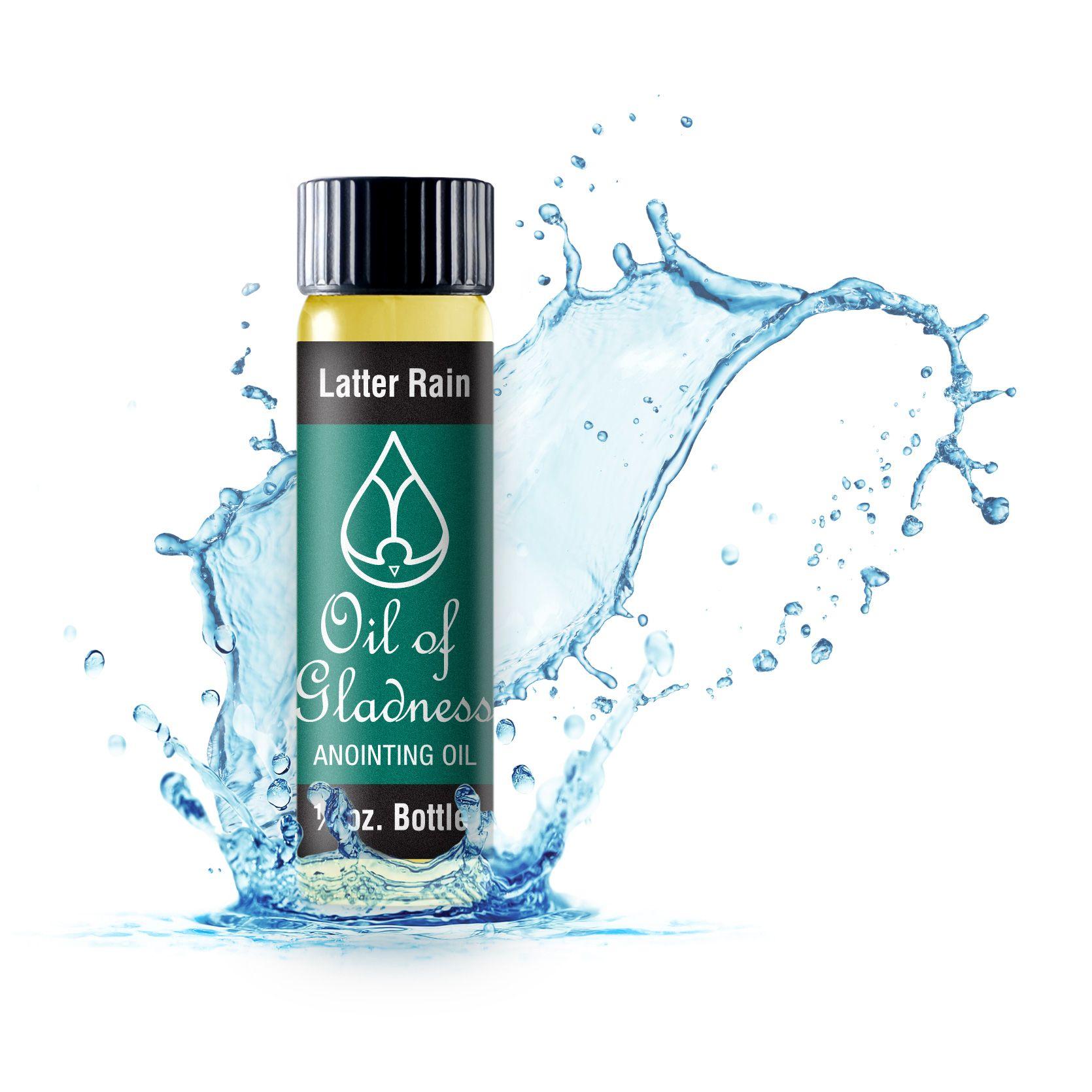 1/4 ounce Latter Rain Oil gifts, Oils, Bottle