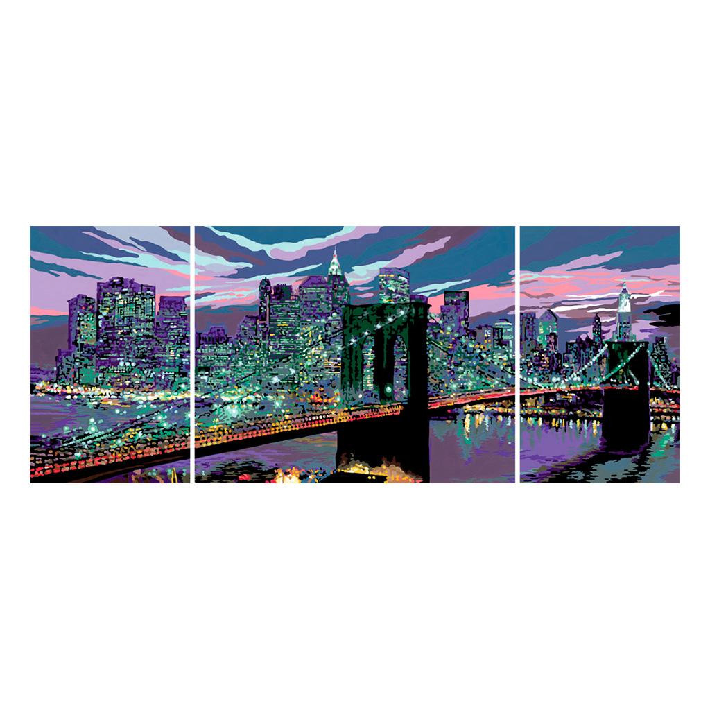 schilderen op nummer  new york  horizon schilderij new