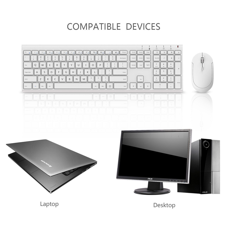 QWERTY UK USB Keyboard /& Mouse Combo Set Black Desktop Computer PC Windows