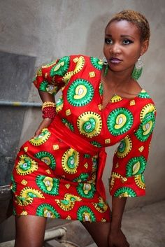 Gotta love the African Prints on Pinterest