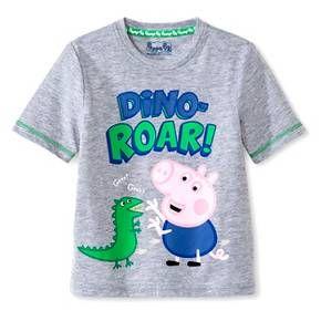 98c7cf423574e Toddler Boys' Peppa Pig George Pig Tee Shirt - Grey | Oliver's 2nd ...