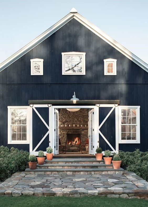 Metal building houses pinteres for Luxury barn plans