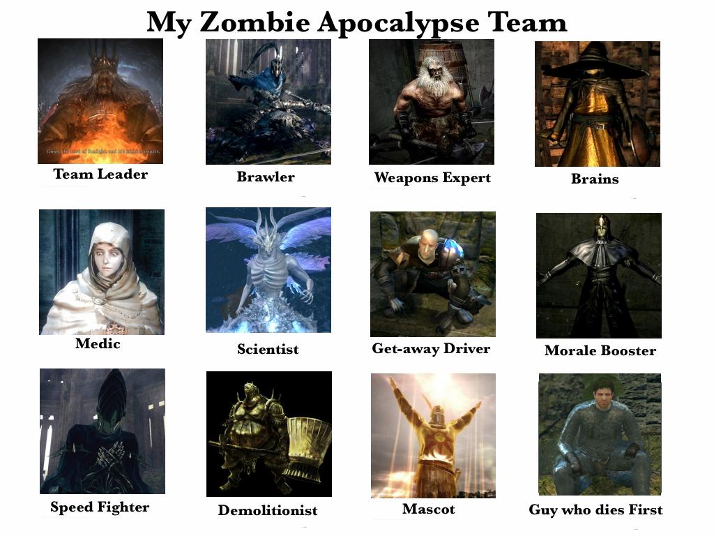Dark Souls Zombie Apocalypse Team Dark Souls Dark Souls Funny Dark Souls Dark Souls Meme
