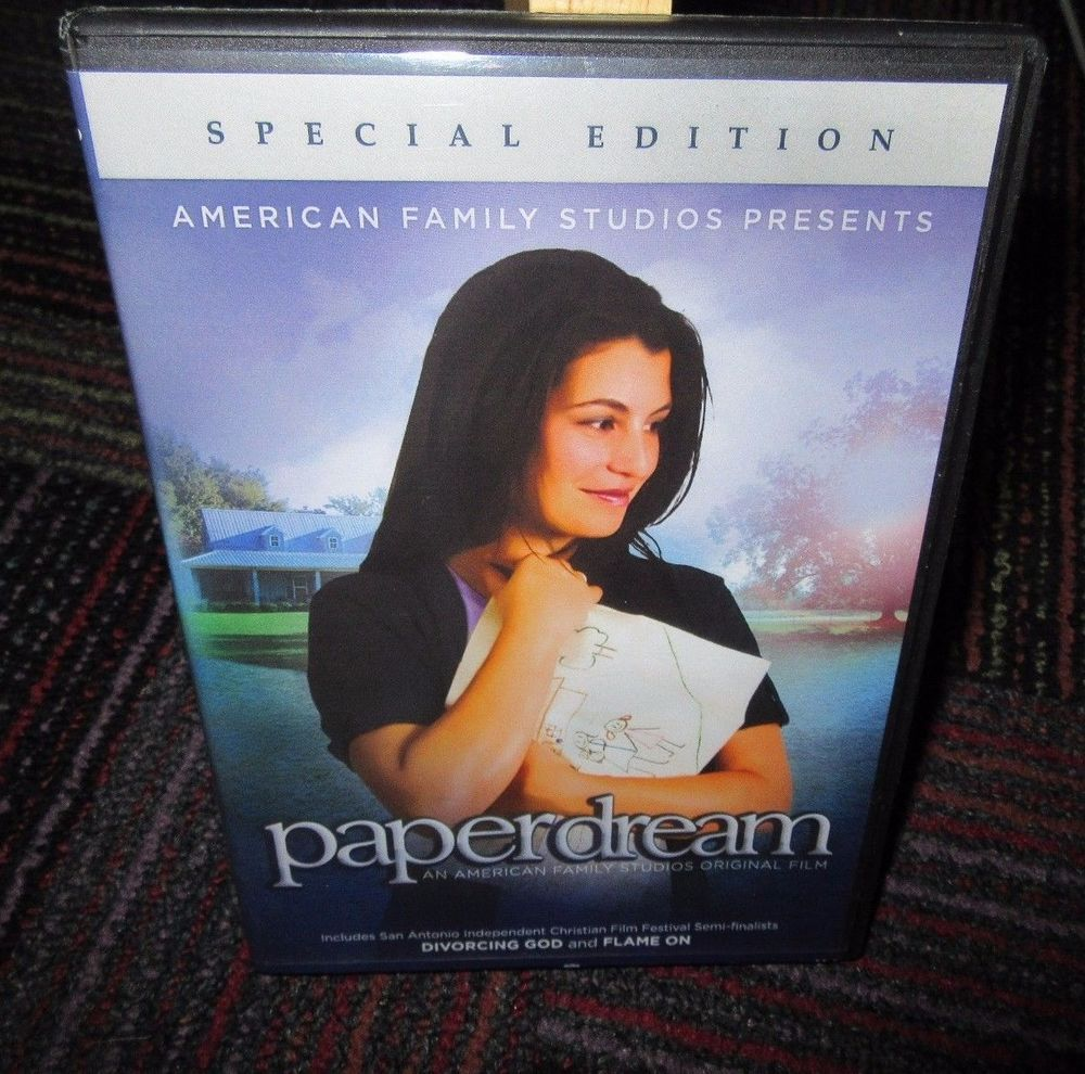 PAPERDREAM SPECIAL EDITION DVD MOVIE, A STORY OF HOPE, GUC