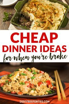 Cheap Dinner Ideas for When You're Broke images