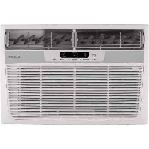 Frigidaire Ffrh1222r2 12000 Btu Window Mounted Electric Air Conditioner With 110 White Window Air Conditioner Heat Pump
