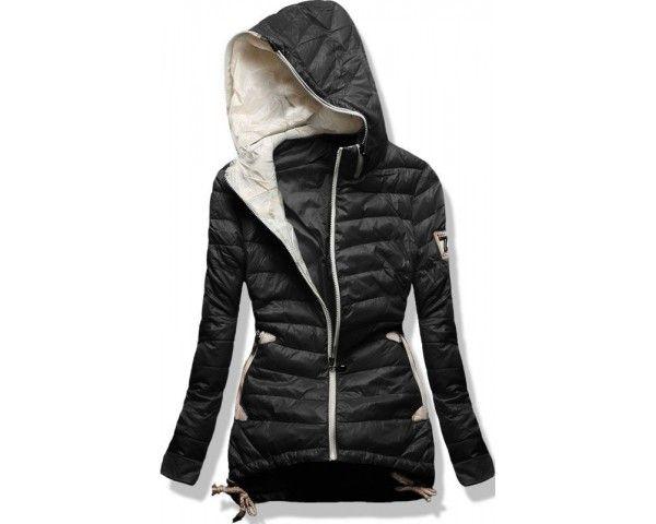 006f603ea641c Dámská zimní bunda Kroks černá   sukně puntík
