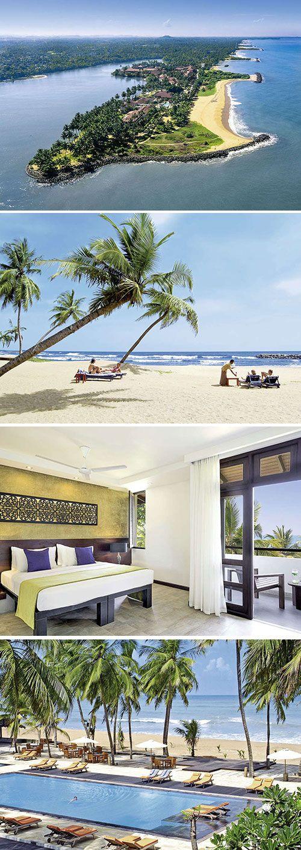 Op een schiereiland vind je het chique viersterren Avani Kalutara Resort. De luxe uitstraling en het mooie strand met palmen maakt dit hotel de ultieme plaats voor een ontspannen vakantie op Sri Lanka.