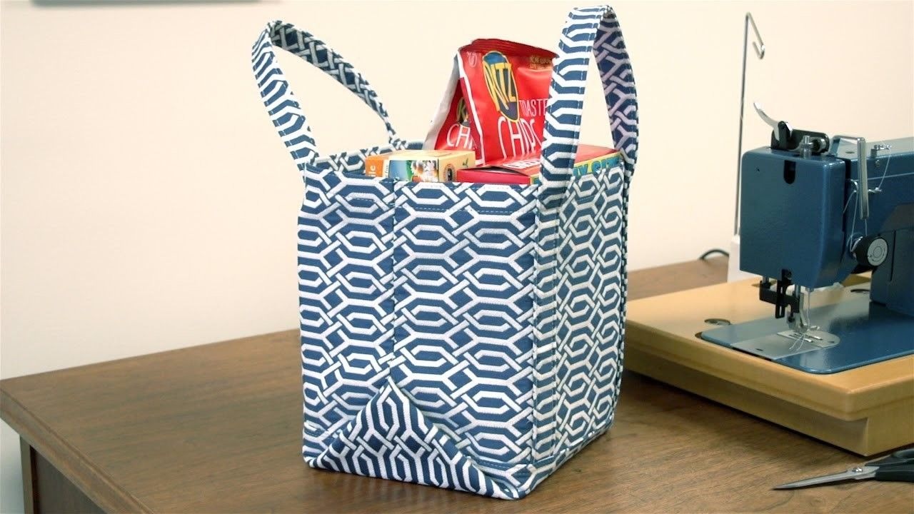 How To Make A Market Tote Bag Tote Bag Bag And Craft
