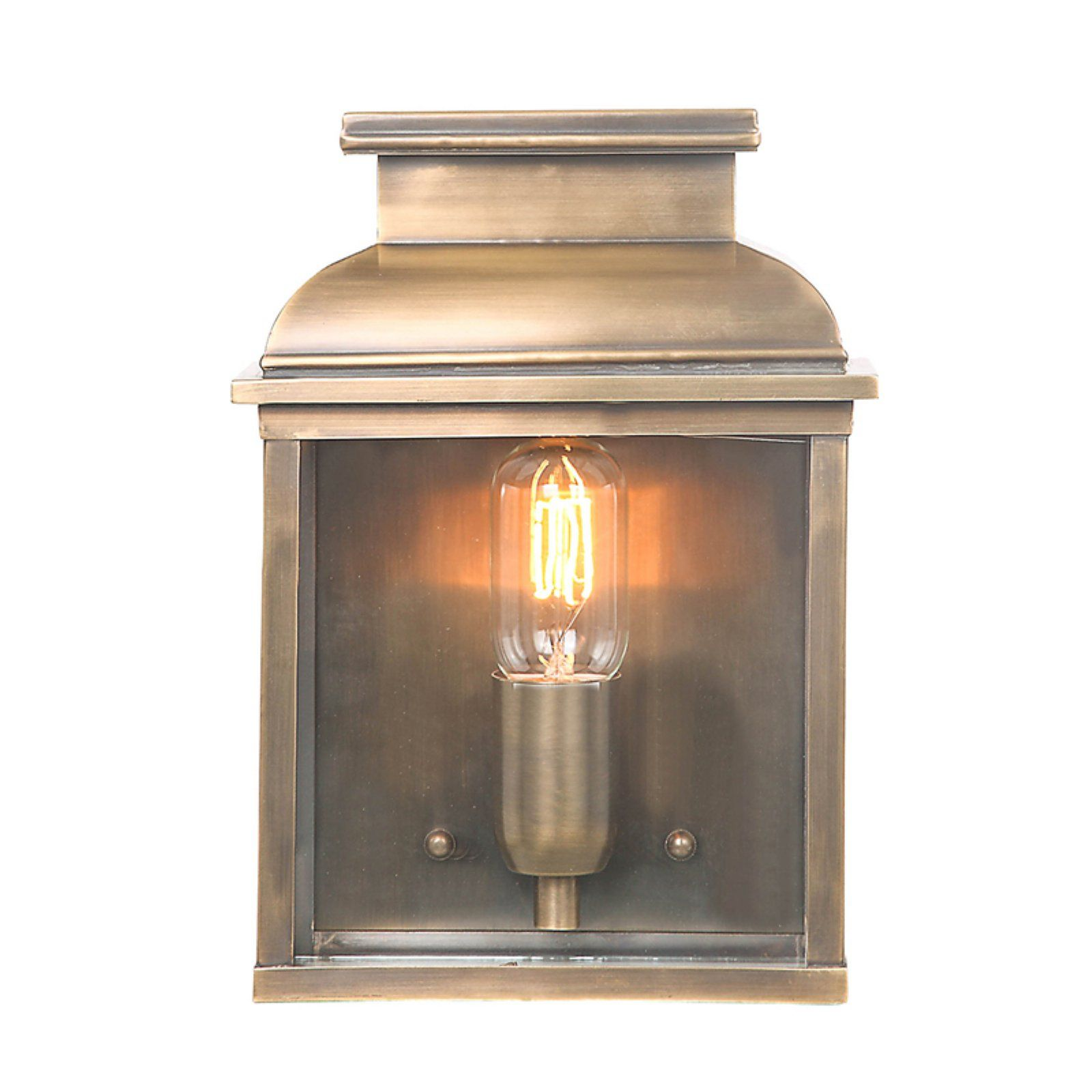 Elstead Old Bailey El Br Outdoor Wall Lantern