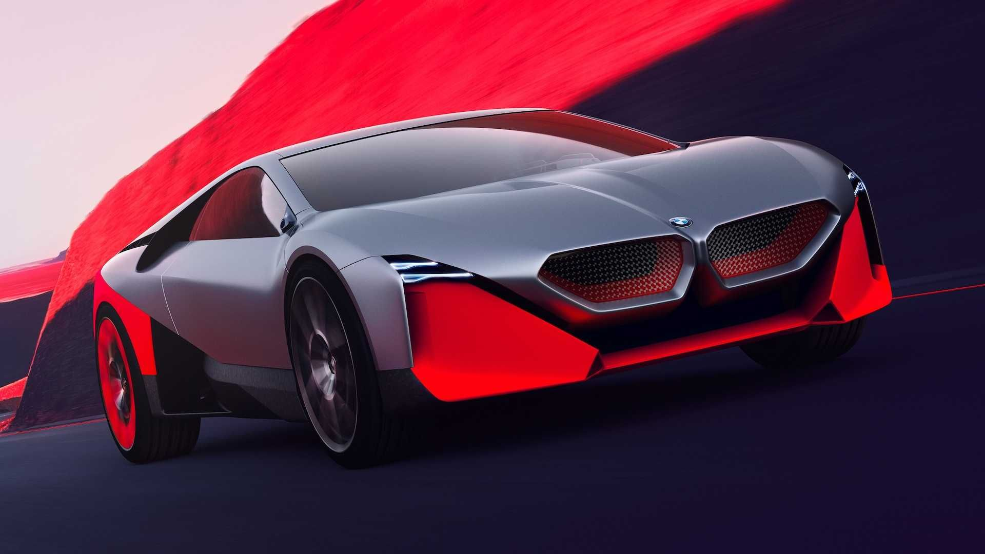 Bmw Vision M Concept Is A Stunning And Futuristic M1 Bmw Hybrid Bmw Super Cars