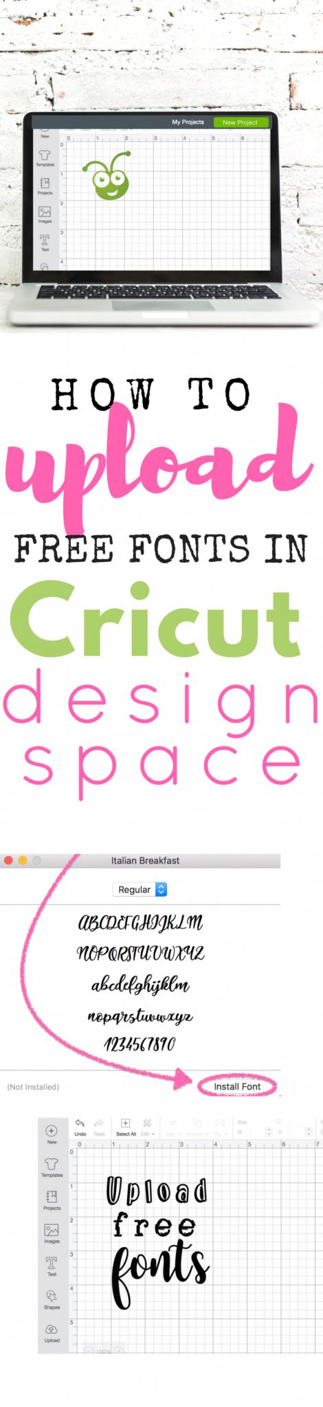 Download Cricut Tips & Tutorial •How to upload a font into cricut ...