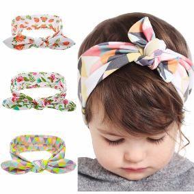Criança bebê meninas crianças nó Turbante Faixa De Cabeça Faixa De Cabelo Faixa Acessórios Bom