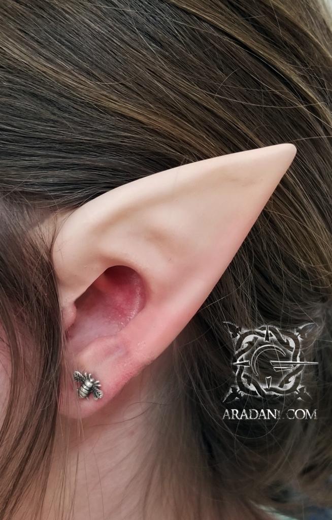 Sun Elf Ears Elf Ears Ear Cuff Jewelry Silver Ear Cuff