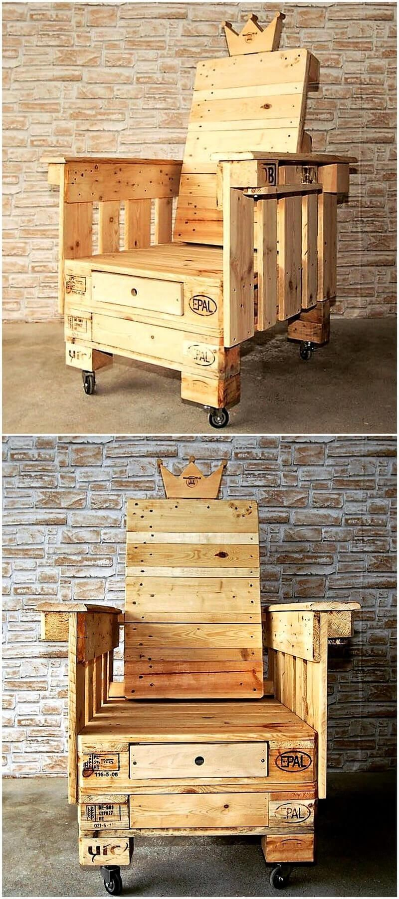 Plan De Meuble A Chaussures this recycled wooden pallet plan is such an amazing example